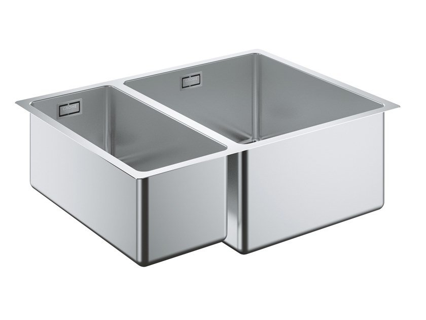 1 1/2 Bowl Undermount Stainless Steel Sink K700   31576SD0 | Sink By Grohe