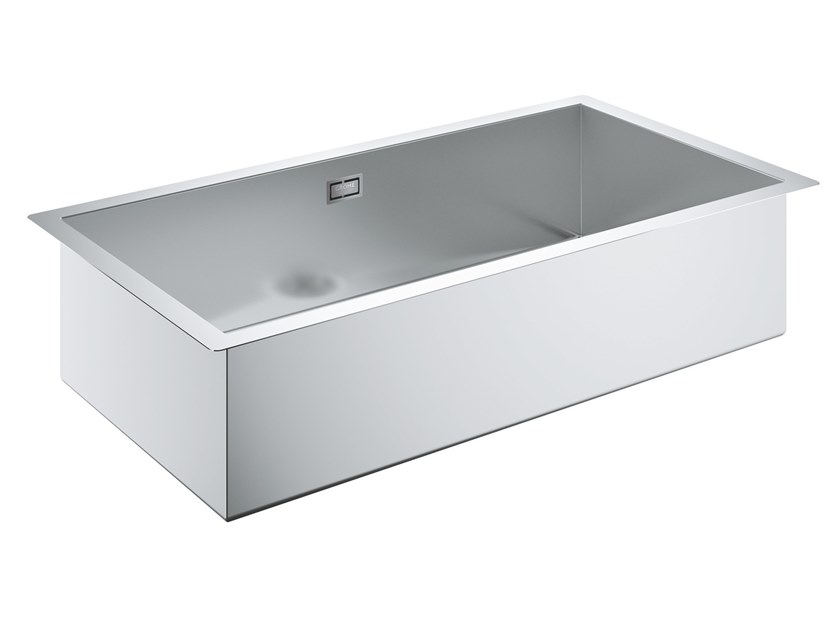 Single flush-mounted stainless steel sink K700 - 31580SD0 | Sink by Grohe