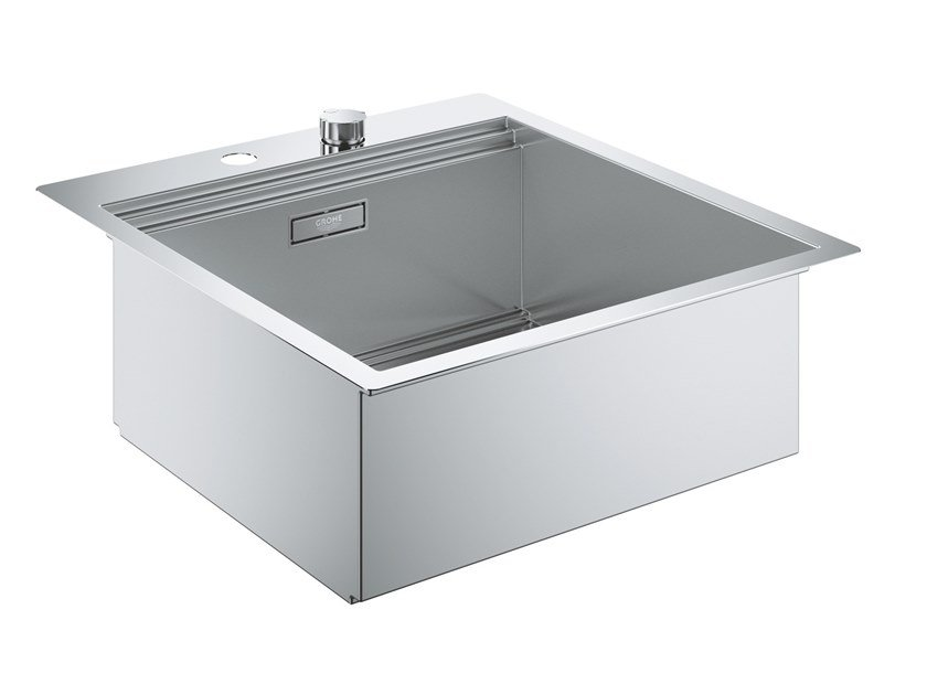 Single flush-mounted stainless steel sink K800 - 31583SD0 | Sink by Grohe