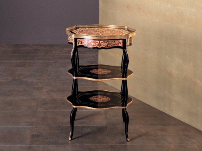 High side table with integrated magazine rack 317   Coffee table by Rozzoni