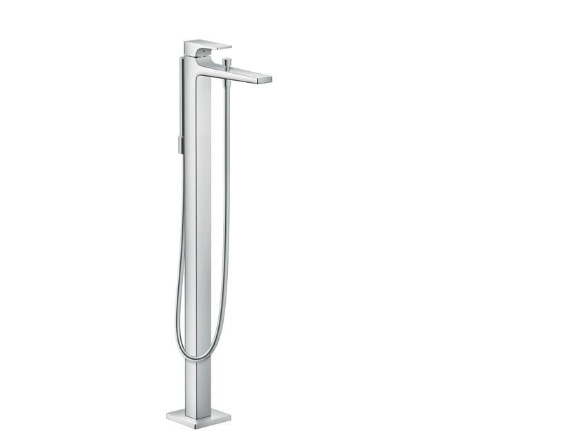 Floor standing single handle bathtub mixer METROPOL   Floor standing bathtub mixer by hansgrohe