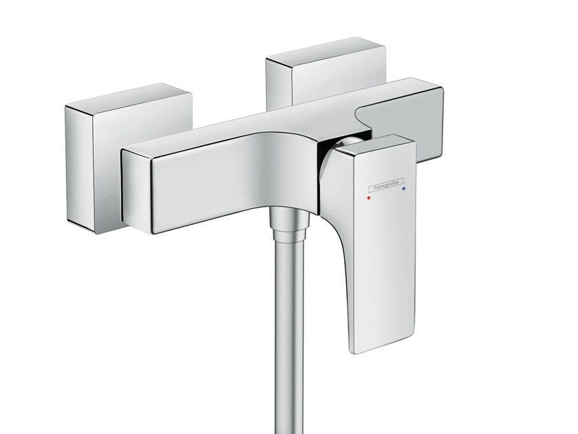 2 hole single handle shower mixer METROPOL | 2 hole shower mixer by hansgrohe