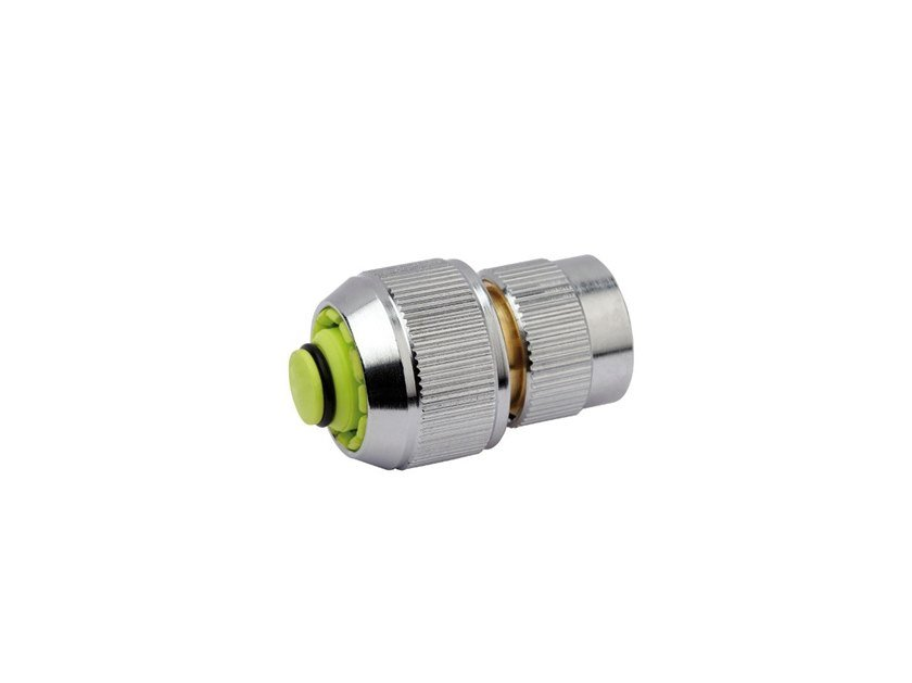 Automatic hose connector with shut-off valve CHROME LINE CONNECTOR CHR336 by AQUAJET by Colortap