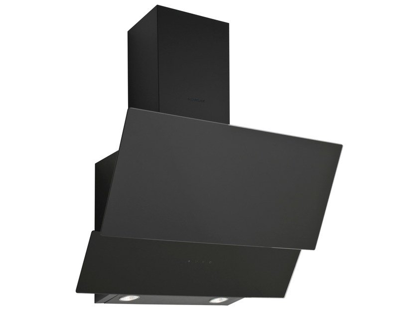Wall-mounted glass and aluminium cooker hood 3420 | Cooker hood by Silverline