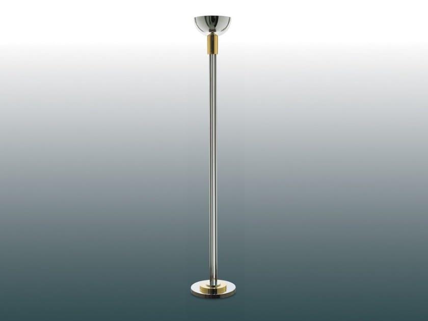 Indirect light metal floor lamp with dimmer 35 | Floor lamp by Jean Perzel