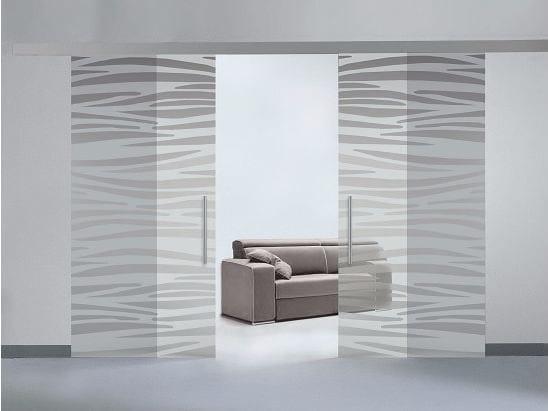 """Glass sliding door IMAGO 35 SLIDING """"DV"""" by GD DORIGO"""