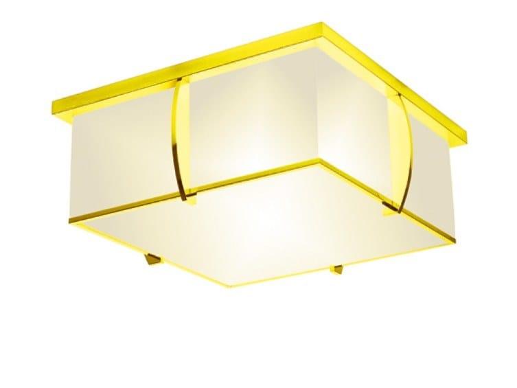 Direct light handmade ceiling lamp 350 JAU | Ceiling lamp by Jean Perzel