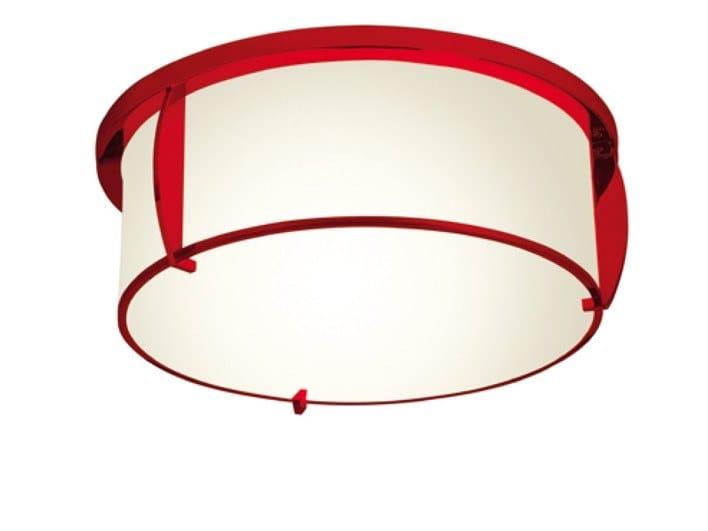 Direct light handmade ceiling lamp 350 ROU | Ceiling lamp by Jean Perzel