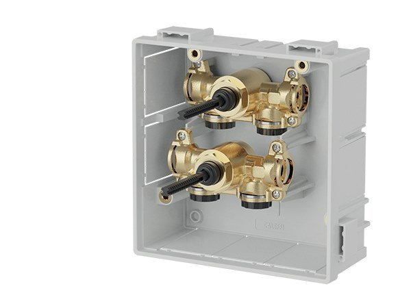 Unit with main shut-off valves 359 by CALEFFI