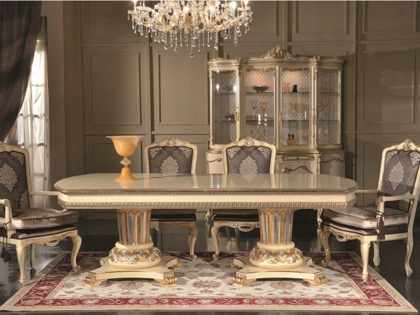 Tavolo da pranzo rettangolare in legno 35TH ANNIVERSARY 2155-2157 by SCAPPINI & C