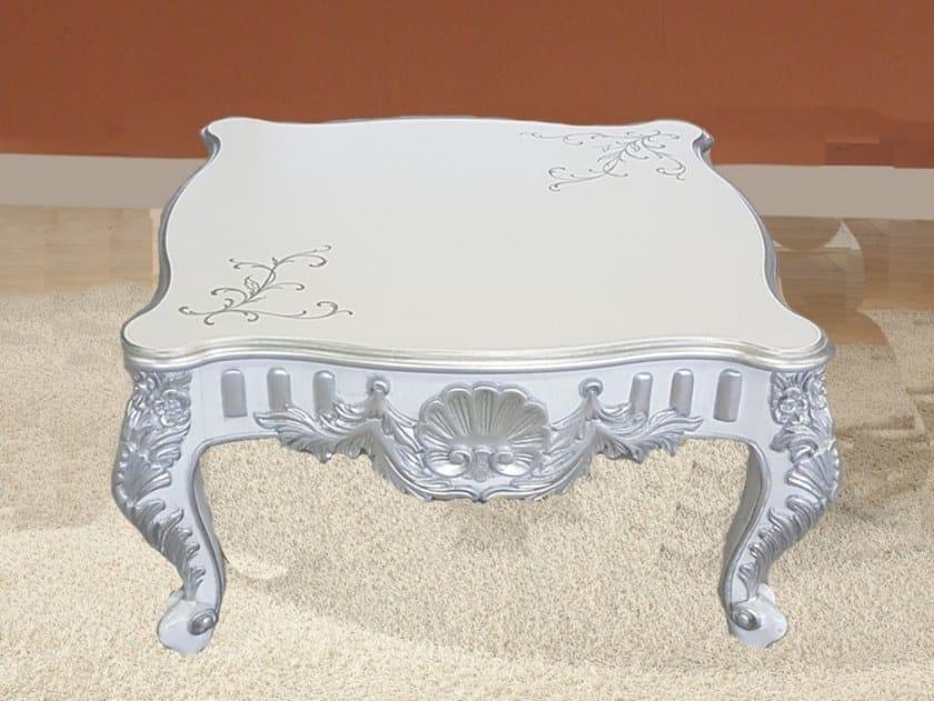 Tavolino basso quadrato in legno 35TH ANNIVERSARY 2211 by SCAPPINI & C
