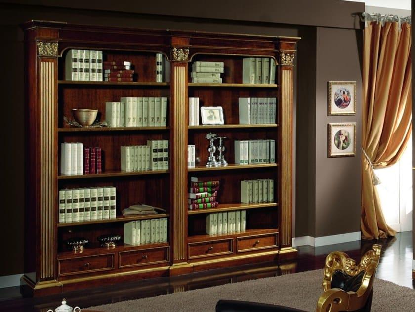 Libreria a giorno componibile in legno con cassetti 35TH ANNIVERSARY 2232 by SCAPPINI & C
