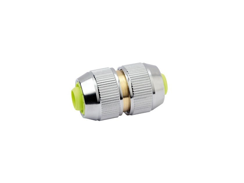 Hose repair connector CHROME LINE CONNECTOR CHR360 by AQUAJET by Colortap