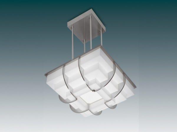 Direct light glass pendant lamp 364 S | Pendant lamp by Jean Perzel