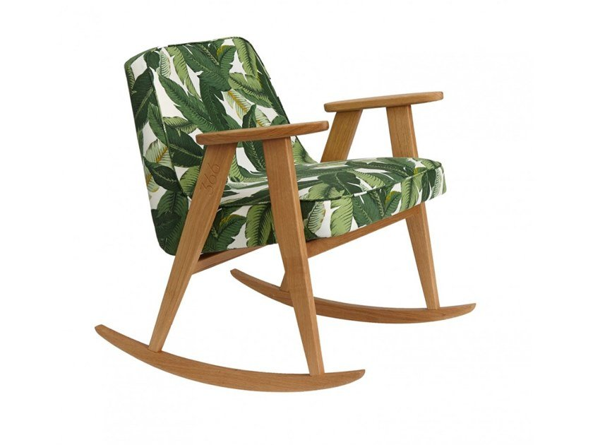 Rocking fabric easy chair 366 DECO | Rocking easy chair by 366 Concept s.c.