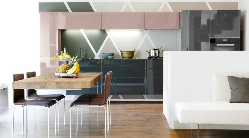 36e8 cucina lineare by lago design daniele lago for Lago cucine prezzi