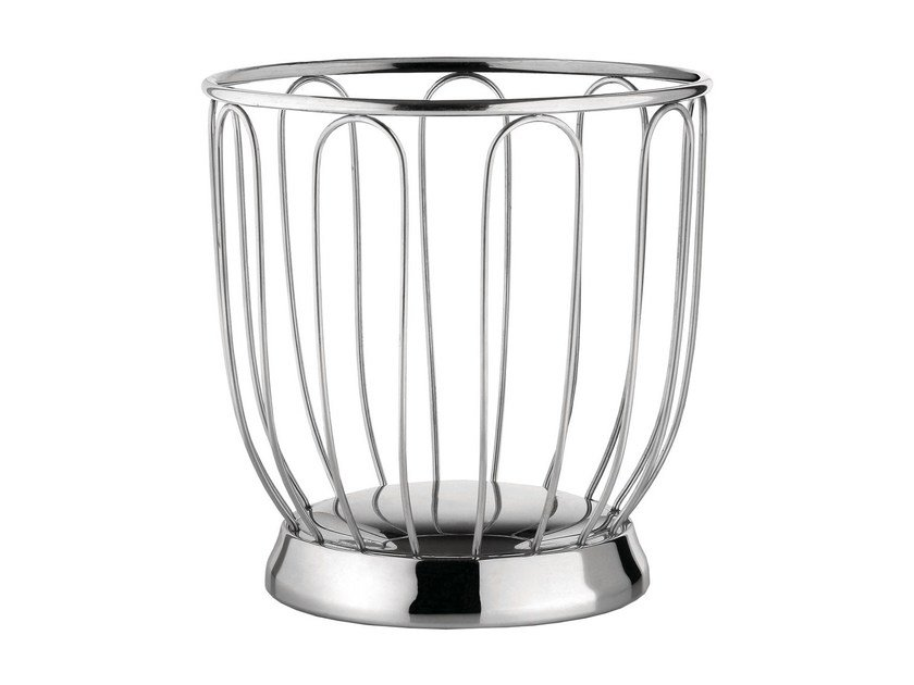 Stainless steel fruit bowl 370 | Fruit bowl by Alessi