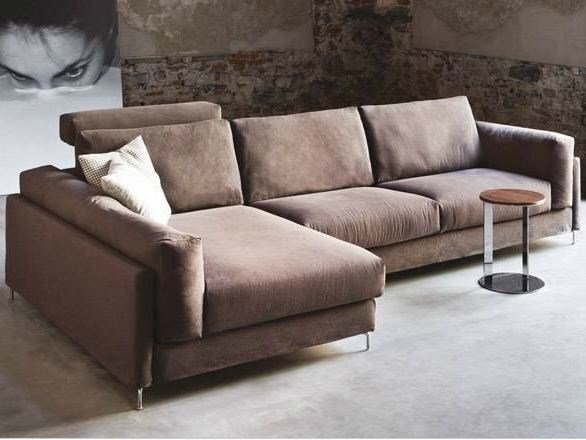 Sofa with chaise longue 375 FREE | Sofa with chaise longue by Vibieffe