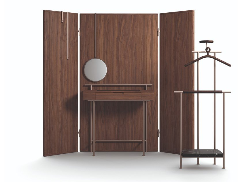 Mobile toilette in legno 375 STAY VANITY TABLE by Cassina
