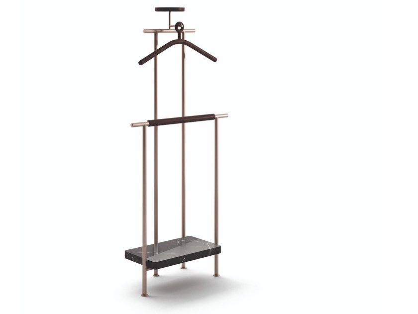 Servomuto in acciaio 375 STAY CLOTHES STAND by Cassina