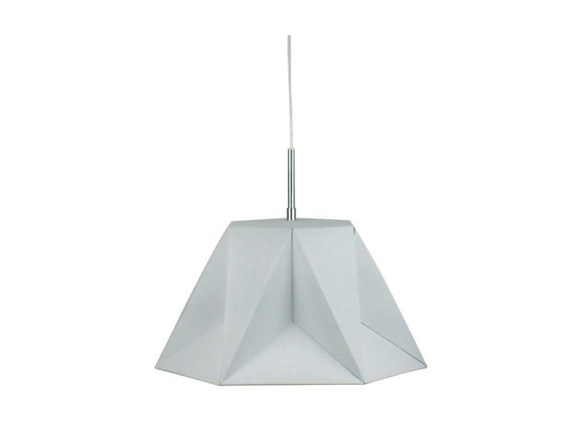 Metal pendant lamp 3ANG by Aromas del Campo