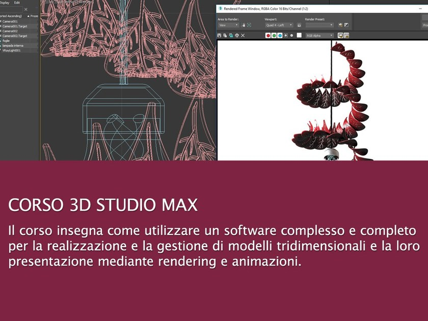 CAD, Rendering and Augmented reality Video Training Course 3D Studio Max Course by UNIPRO