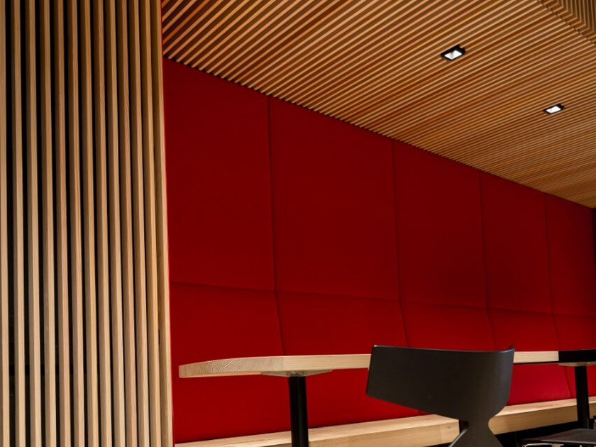 Douglas interior slats 3D Wall Cladding by pur natur