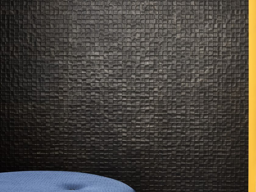 Porcelain stoneware 3D Wall Mosaic with concrete effect SHADES | 3D Wall Mosaic with concrete effect by Ceramiche Piemme