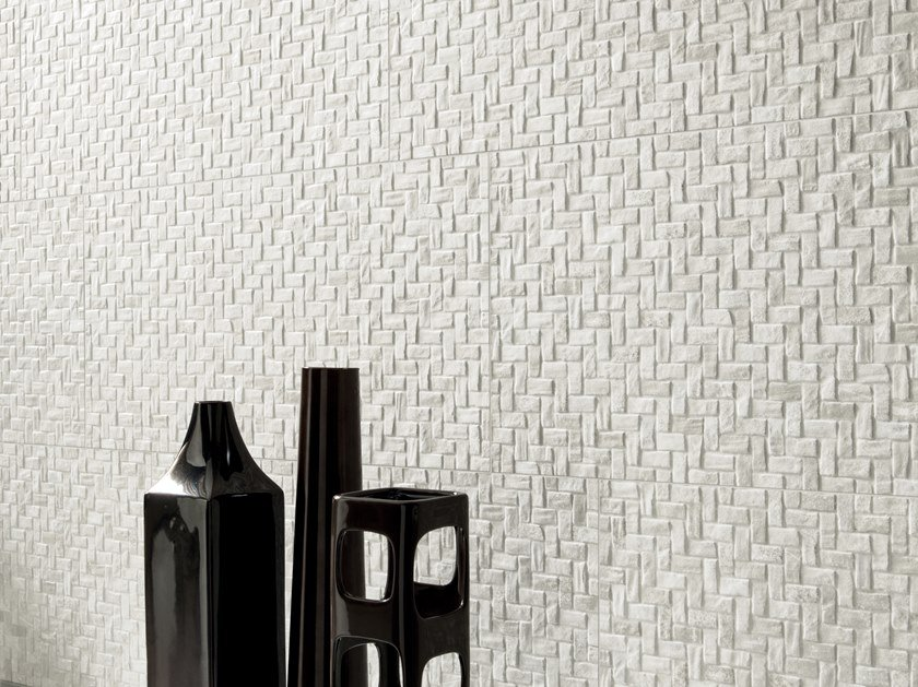 Porcelain stoneware 3D Wall Cladding with stone effect UNIQUESTONE | 3D Wall Cladding with stone effect by Ceramiche Piemme
