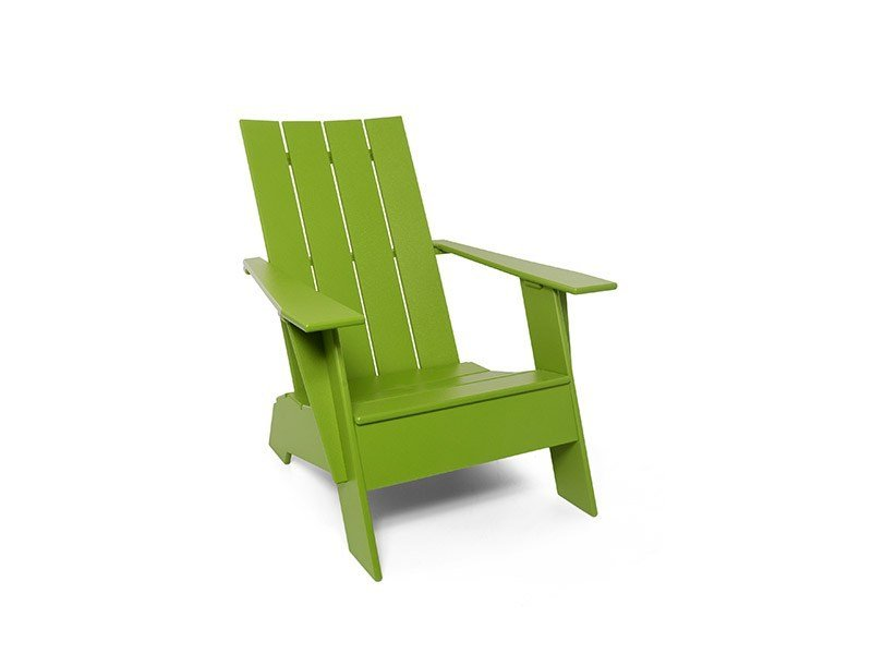Deck chair with armrests 4 SLAT ADIRONDACK by Loll Designs