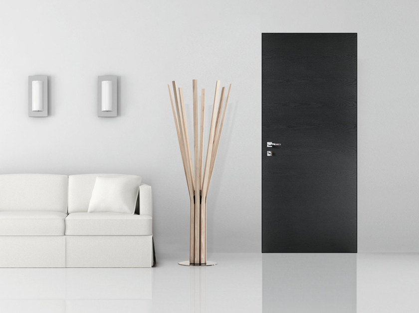 Flush-fitting lacquered safety door MONOLITE RM - 15.2008 MRM by Bauxt