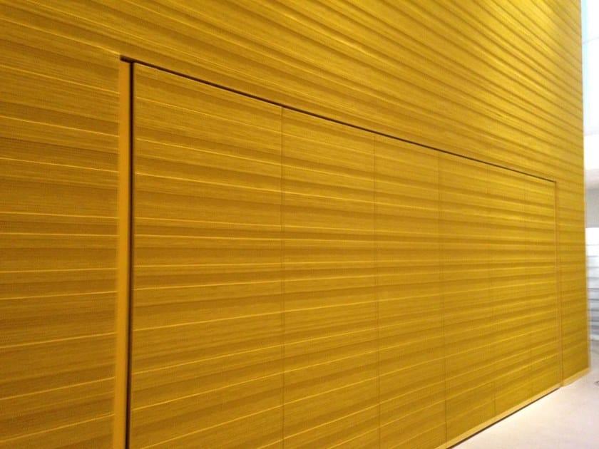Tessuto acustico da parete in feltro di lana STRIPES | Tessuto by BUXKIN