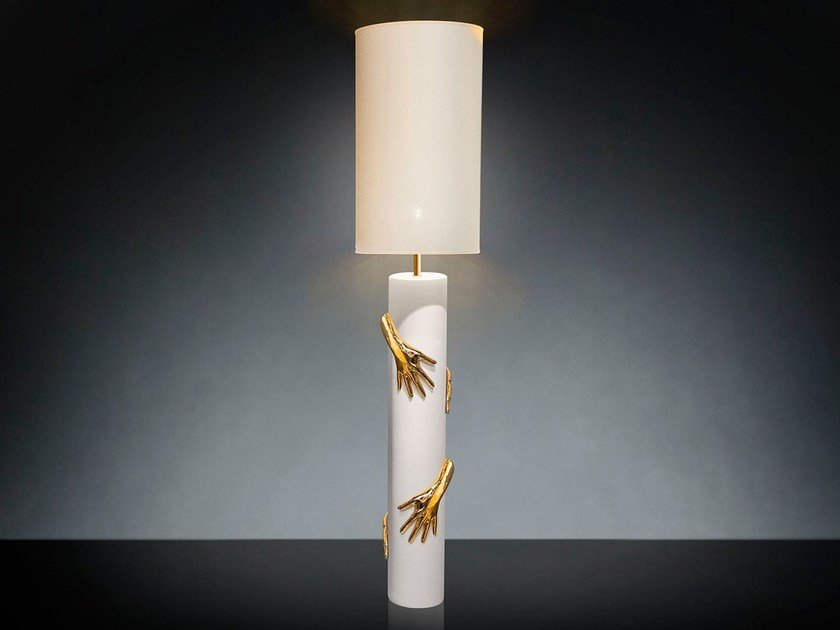 Ceramic floor lamp 4 HANDS by VGnewtrend