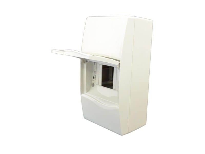 Plastic enclosure 4 MOD ENCLOSURE IP40 C/W OPAQUE WINDOW by Garo