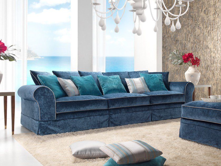 4 seater fabric sofa BABILONIA | 4 seater sofa by Gold Confort