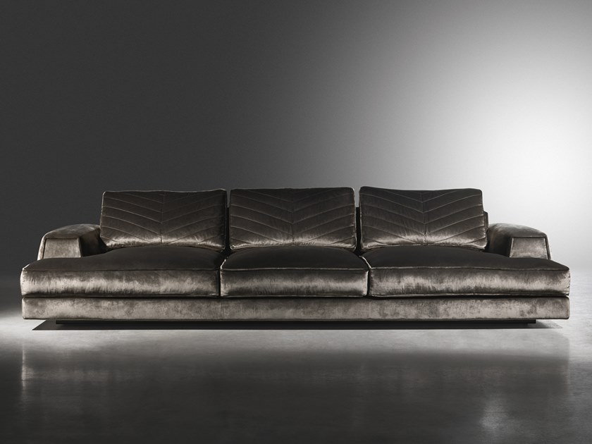 Sectional 4 seater fabric sofa XAVIER | 4 seater sofa by Visionnaire