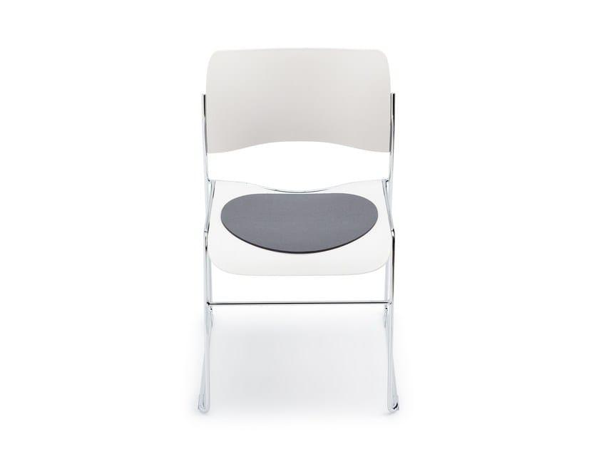 Round felt chair cushion 40/4 by HEY-SIGN