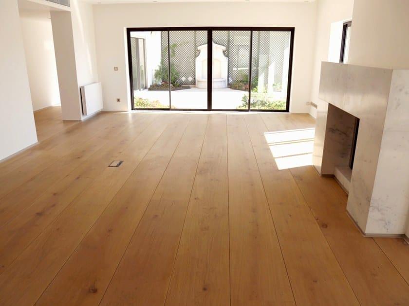 Oak floorboards 400 SERIES - OAK by pur natur