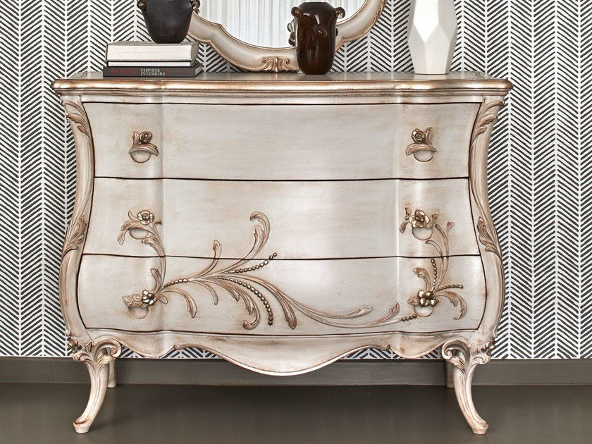 Wooden chest of drawers 4016 | Chest of drawers by Grifoni Silvano
