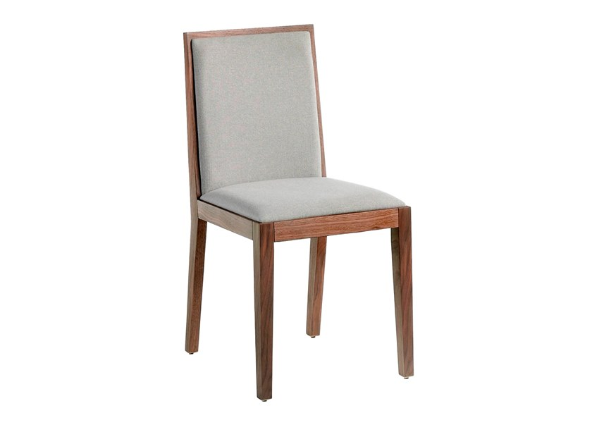 Upholstered wooden chair 4045 by Angel Cerdá