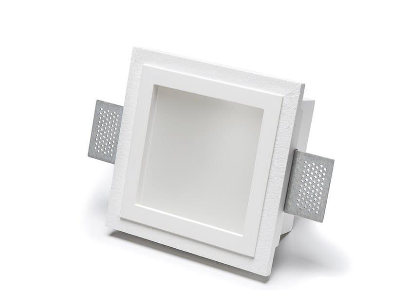 Lampada da parete e da soffitto a incasso in Cristaly® 4053 by 9010 novantadieci