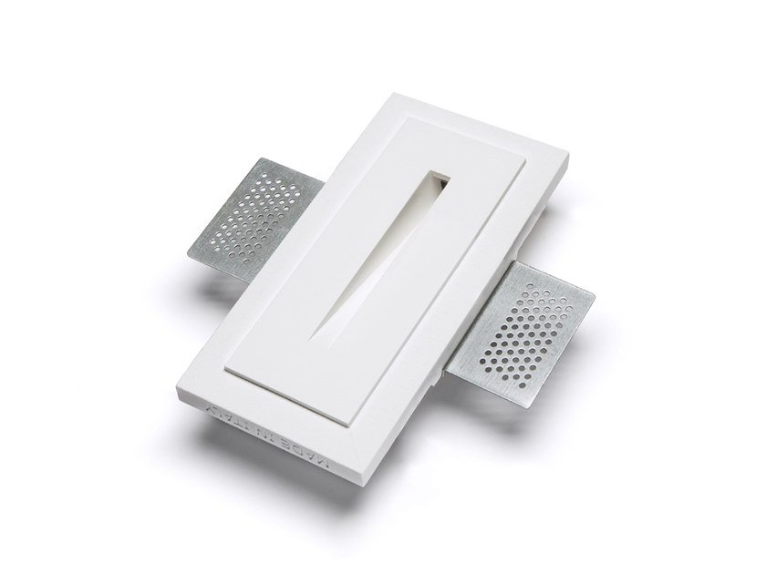 LED wall-mounted Cristaly® steplight 4100E | Wall-mounted steplight by 9010 novantadieci