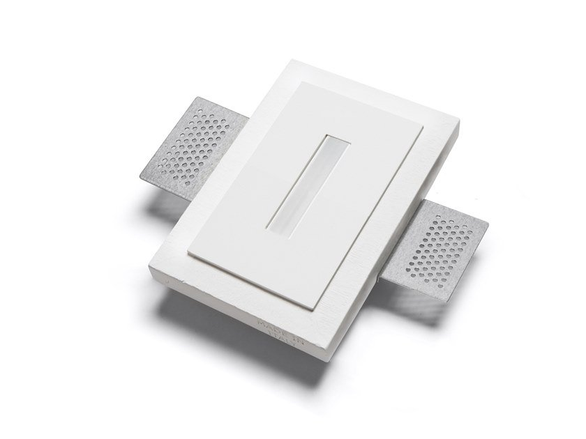 LED wall-mounted Cristaly® steplight 4130A | Wall-mounted steplight by 9010 novantadieci