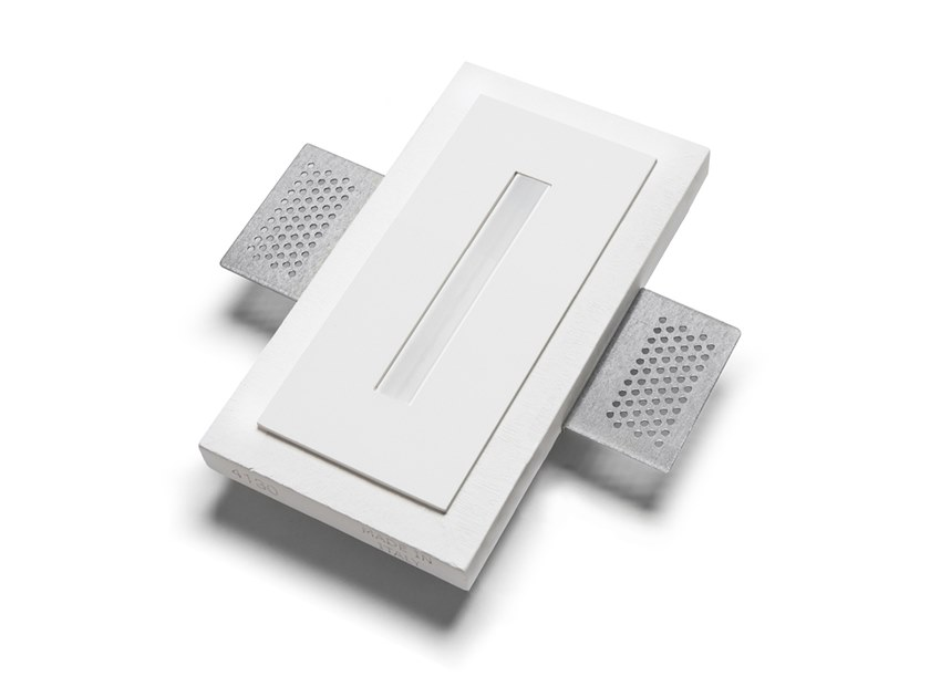 LED wall-mounted Cristaly® steplight 4130B | Wall-mounted steplight by 9010 novantadieci