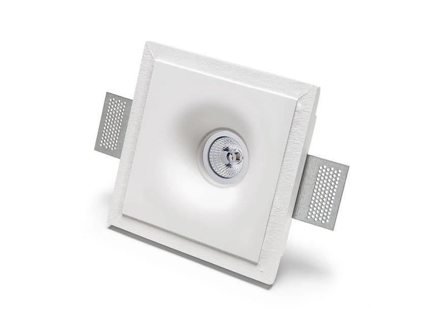 Lampada da parete e da soffitto a incasso in Cristaly® 4175 | Faretto da incasso by 9010 novantadieci