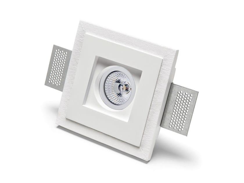 Lampada da parete e da soffitto a incasso in Cristaly® 4176 | Faretto da incasso by 9010 novantadieci