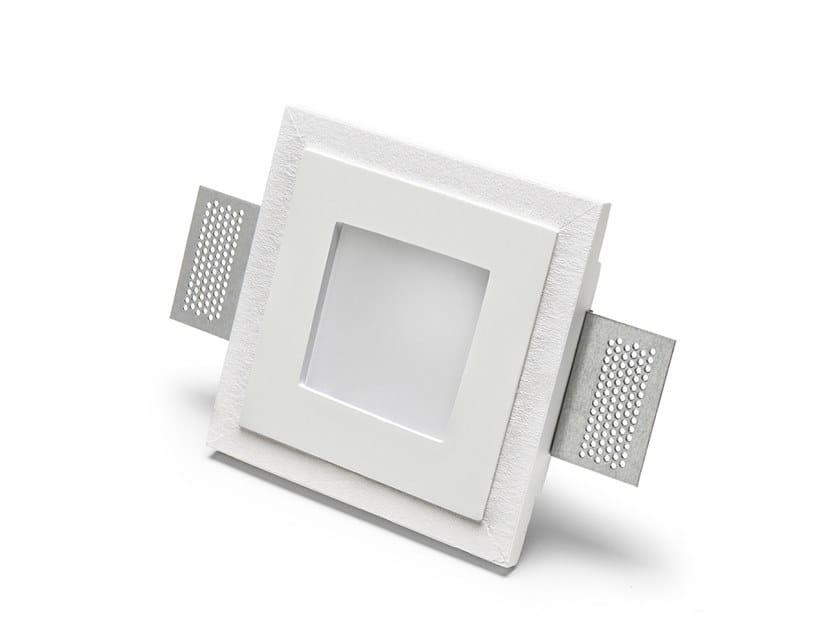 Lampada da parete e da soffitto a incasso in Cristaly® 4178 by 9010 novantadieci