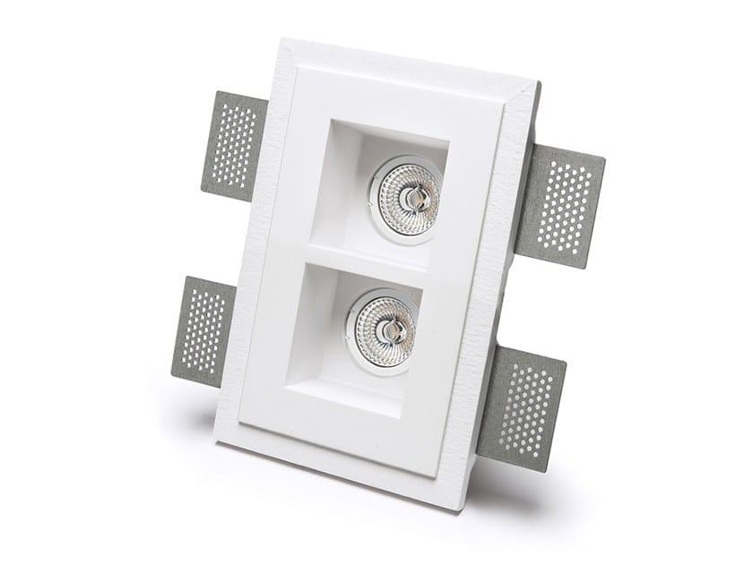Lampada da parete e da soffitto a incasso in Cristaly® 4180A   Faretto da incasso by 9010 novantadieci