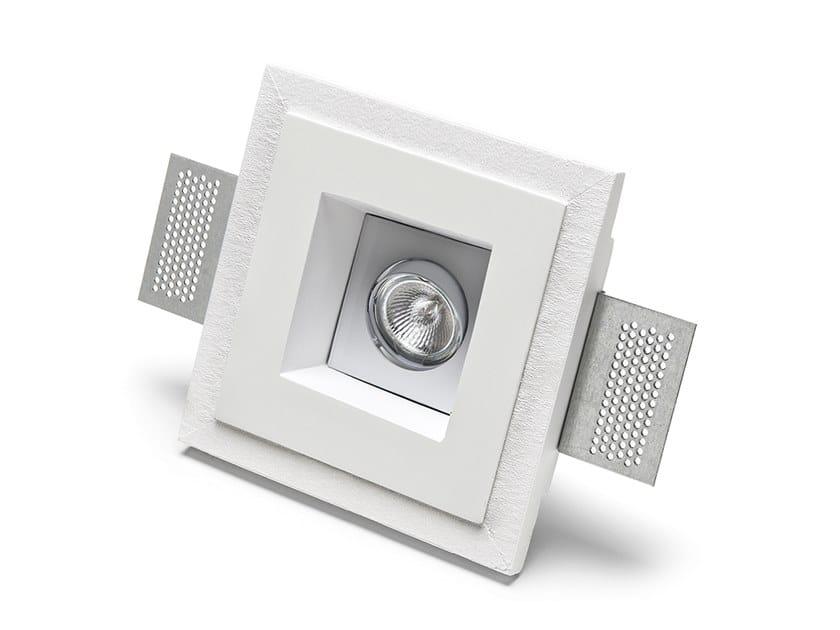Lampada da parete e da soffitto a incasso in Cristaly® 4183   Faretto da incasso by 9010 novantadieci