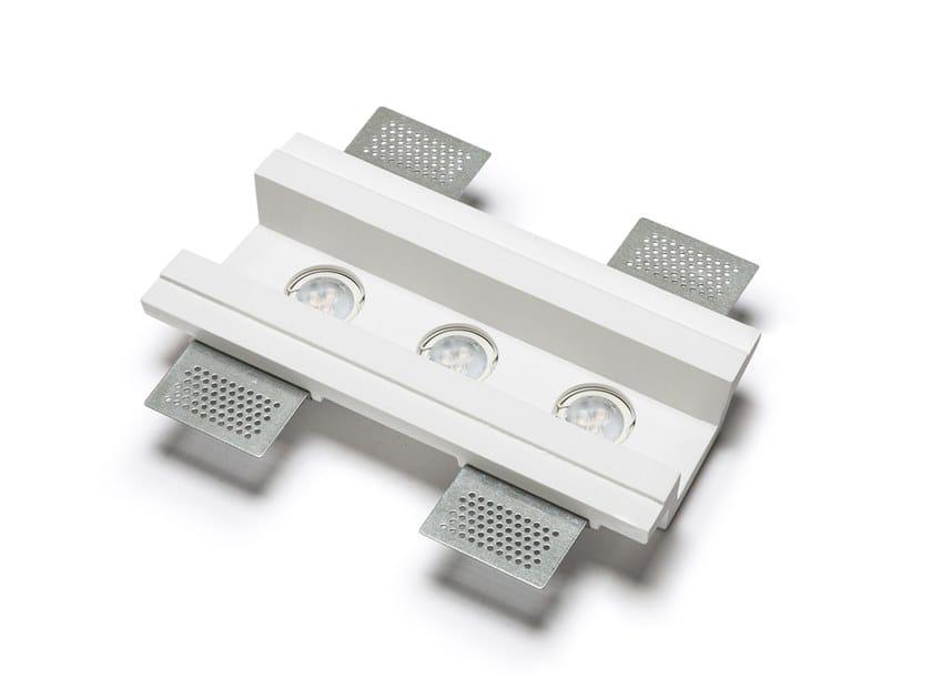 Lampada da soffitto a incasso a LED in Cristaly® 4191C | Lampada da soffitto a incasso by 9010 novantadieci